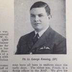 Flt. Lt George Kenning, DFC